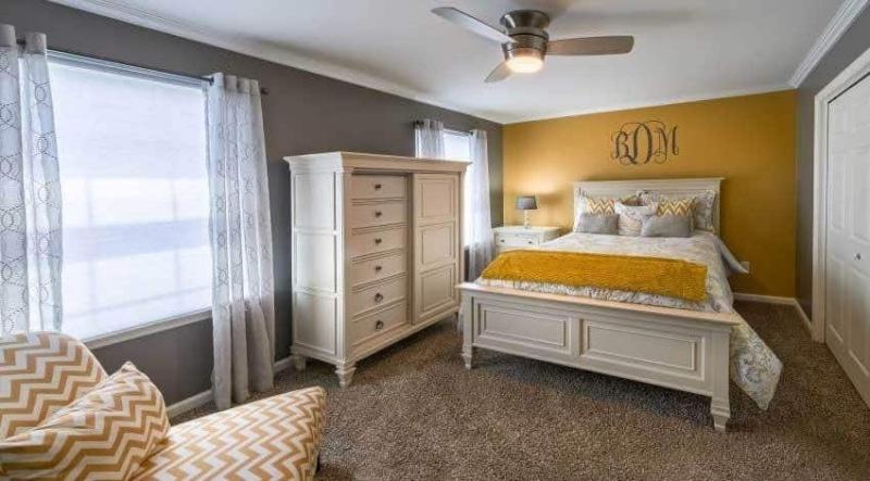 The Belmont - Bedroom